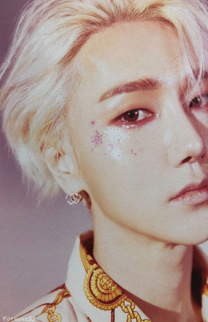 Arte Junior Replay Yesung Super Junior Replay 8th Album Maquillaje En 2019