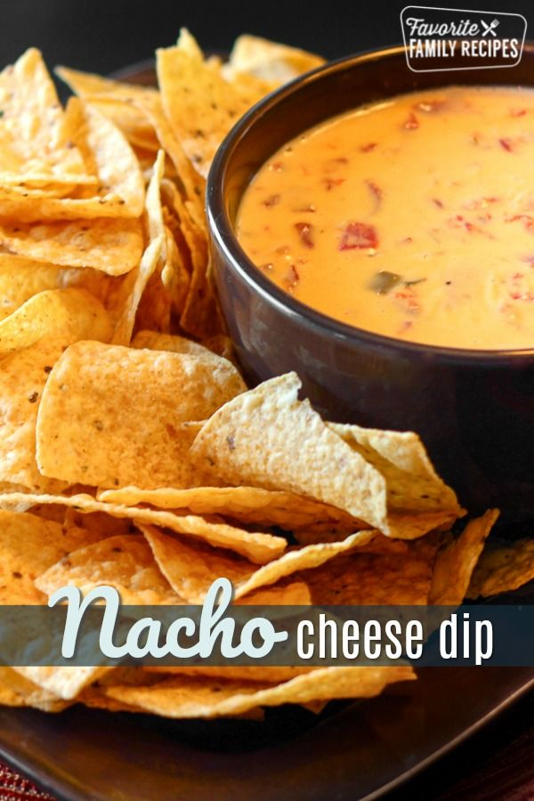This Creamy And Slightly Spicy Nacho Cheese Dip Has Only 2