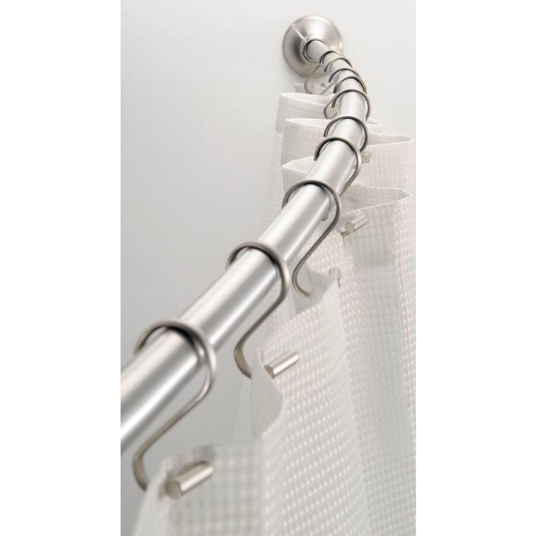 Interdesign Curved Shower Curtain Rod Curved Interdesign
