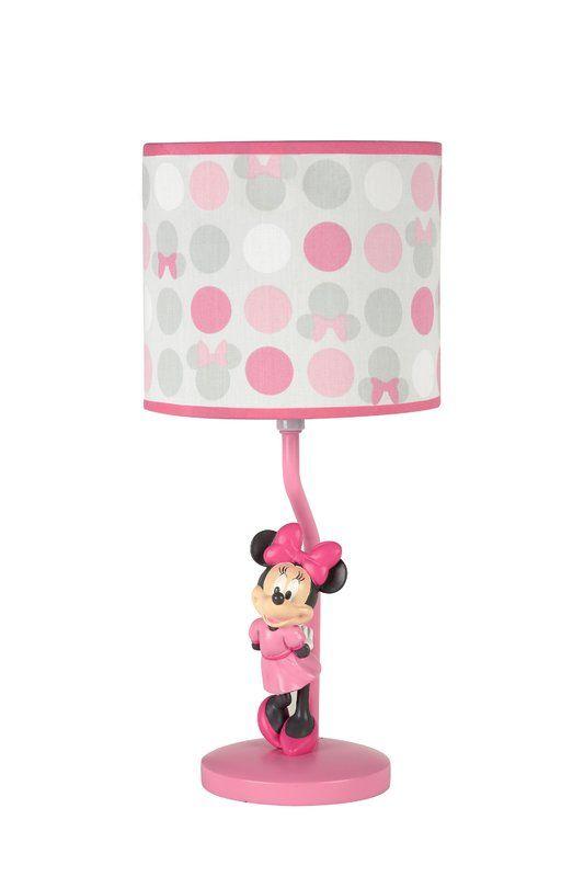 Disney Minnie Mouse 16 Table Lamp Minnie Mouse Room Decor