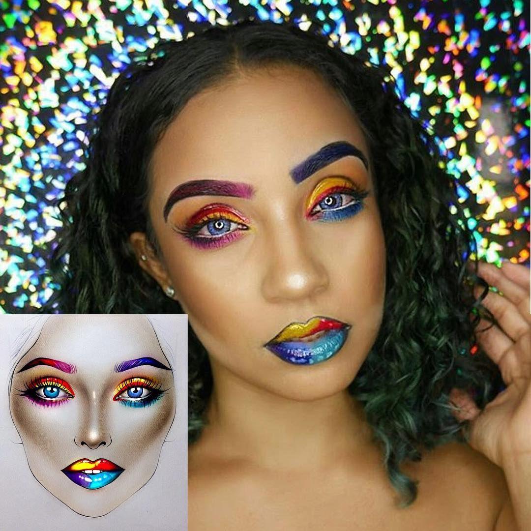 Meet @milk1422: the Artist Behind the Face Charts Inspiring Makeup