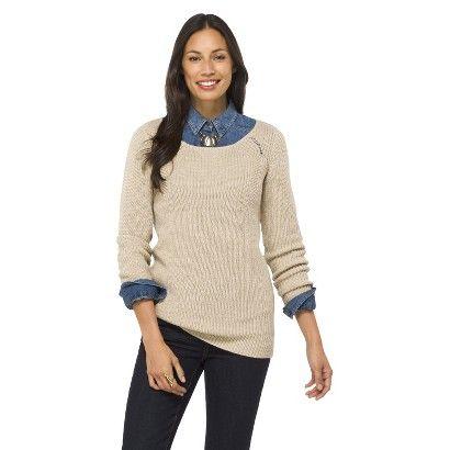 Long Sleeve Tunic Sweater - Merona - Target (M)