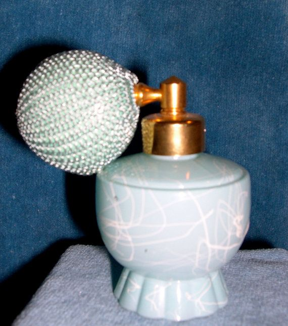 De Vilbiss Perfume BottleVintage Perfume Bottle by HouseofRube