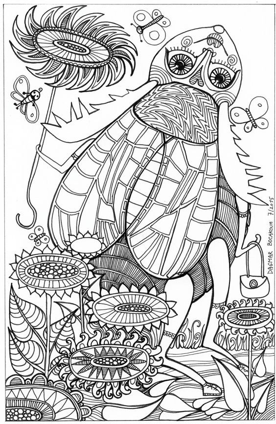Pin de Barbara en coloring insect | Pinterest | Insectos
