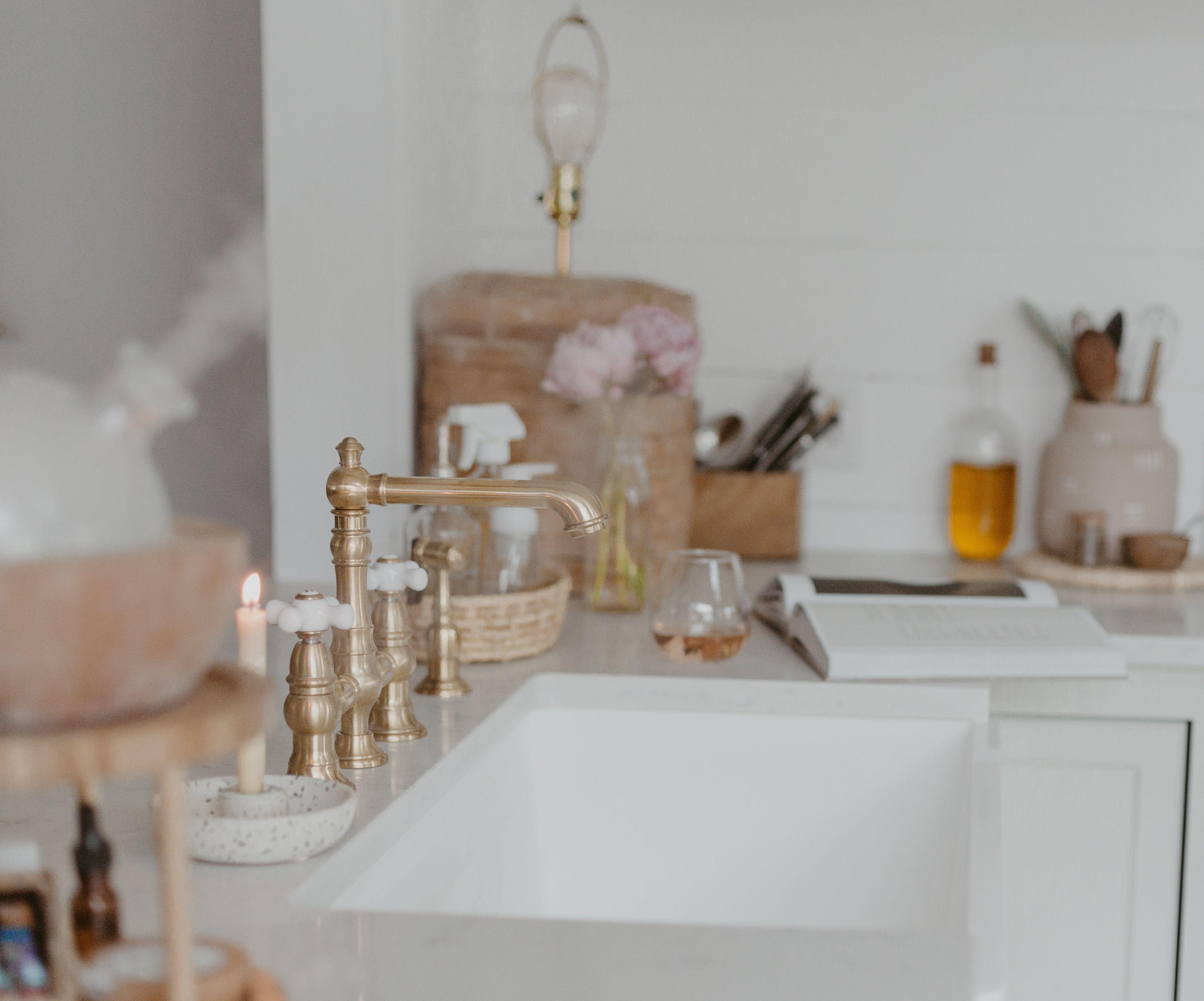 bridge kitchen faucet