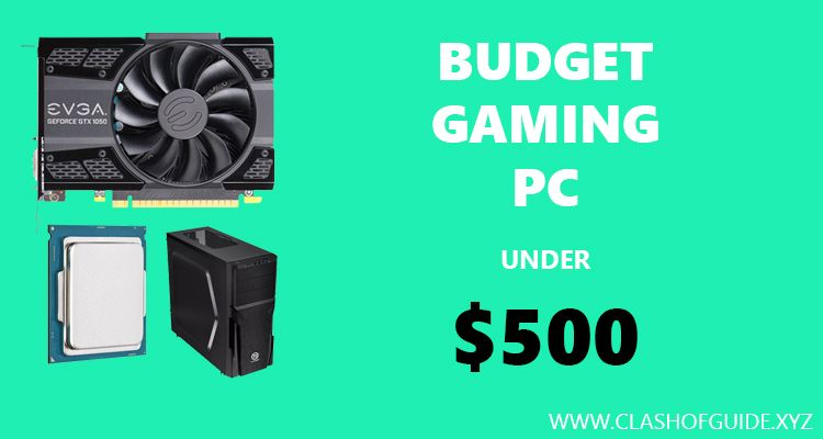 best budget gaming pc under 500 for 2016 pascal skylake build