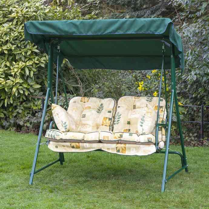 3 Person Patio Swing Replacement Cushions Porch Swing Patio