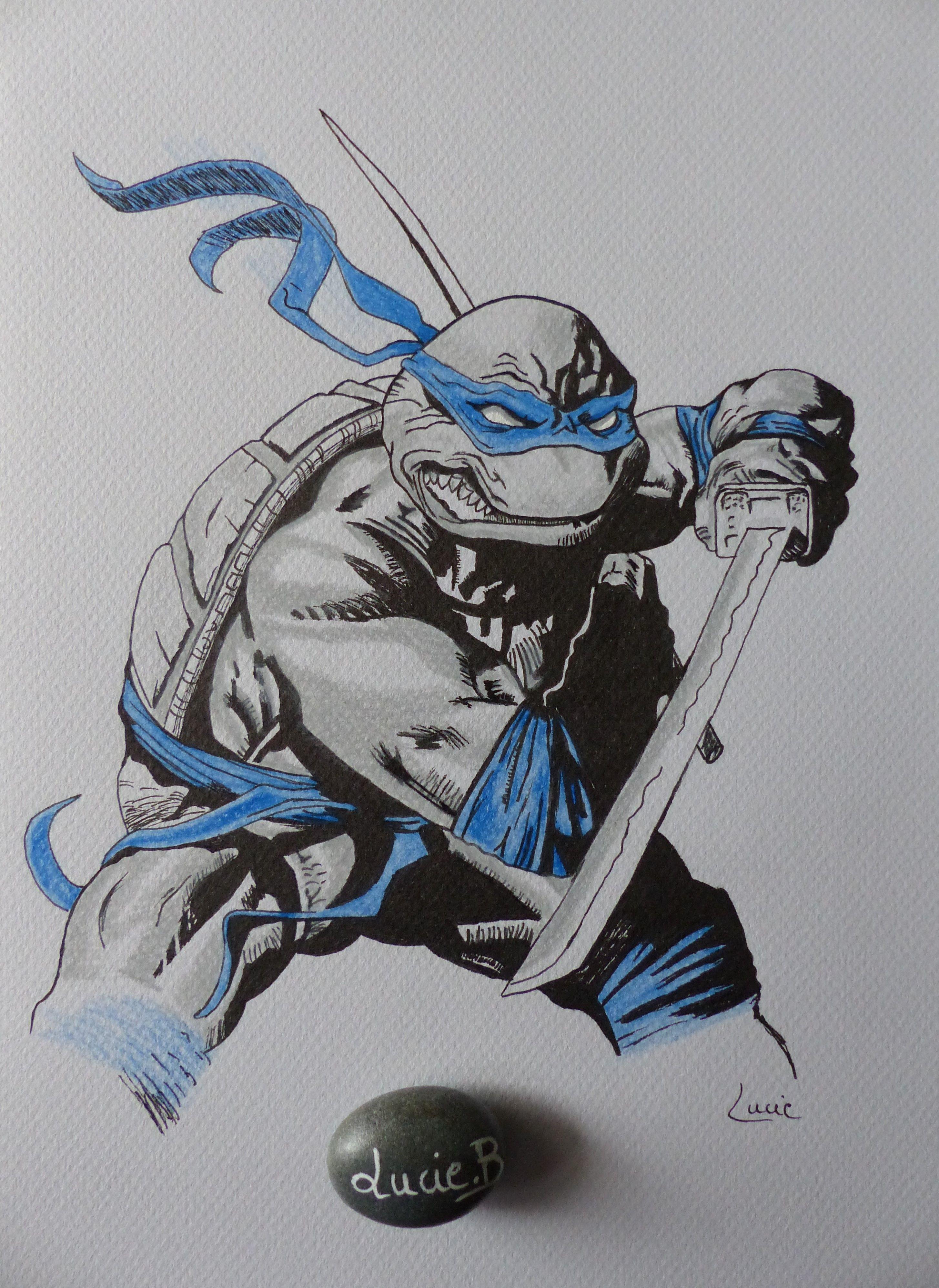 Meilleur De Dessin Coloriage tortue Ninja