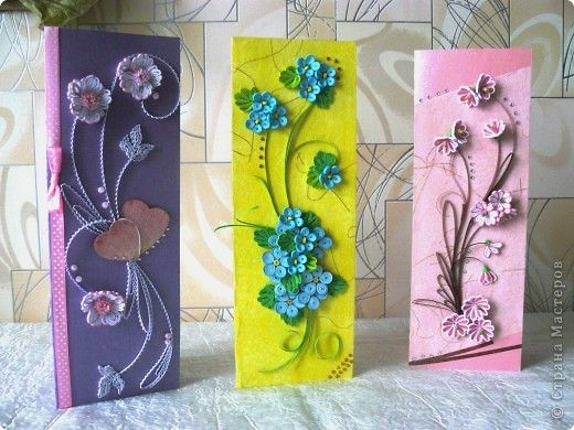 Quilled cards by guzhvik