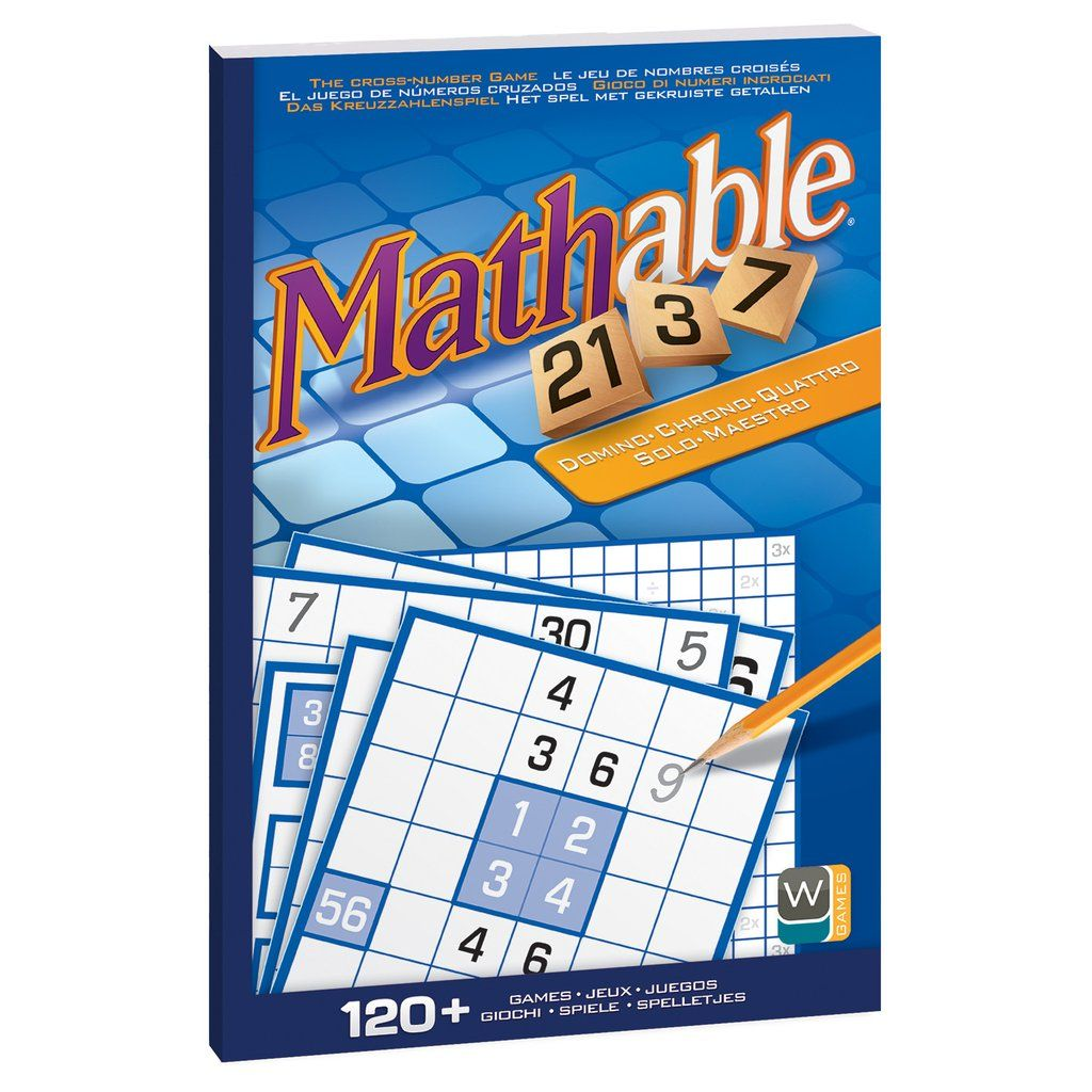 Mathable® Game Book Games, Maths puzzles, Books