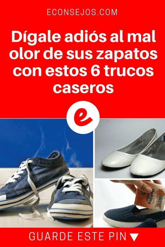 Dígale Adiós Al Mal Olor De Sus Zapatos Con Estos 6 Trucos Caseros Mal Olor Zapatos Quitar Olor De Pies Limpieza De Zapatos