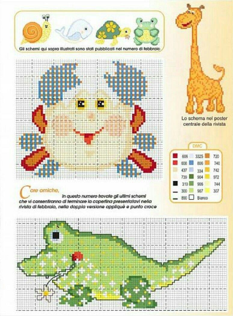 Granchio  e coccodrillo