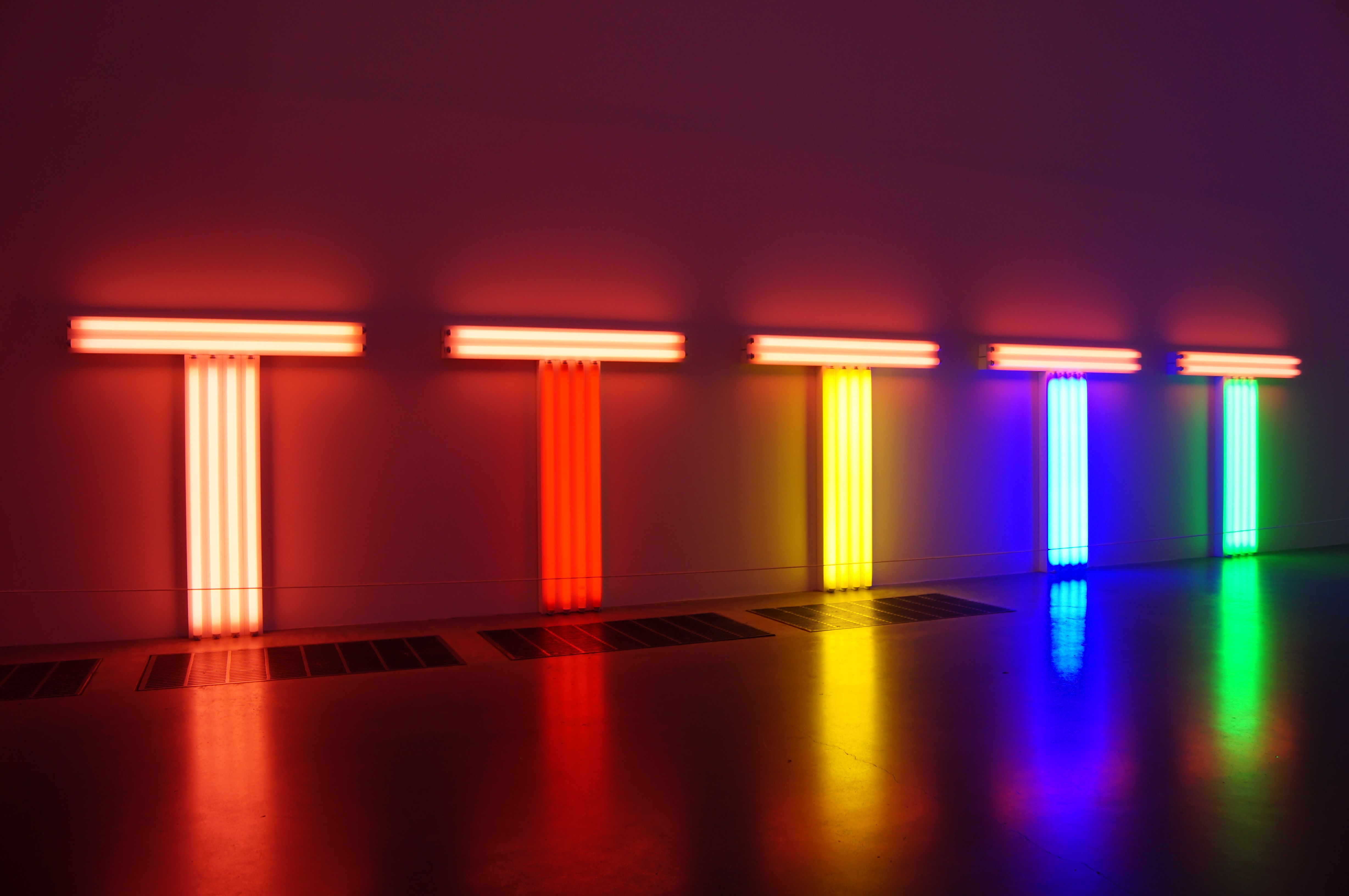 150MC Assignment One, Pressures in Society Dan Flavin
