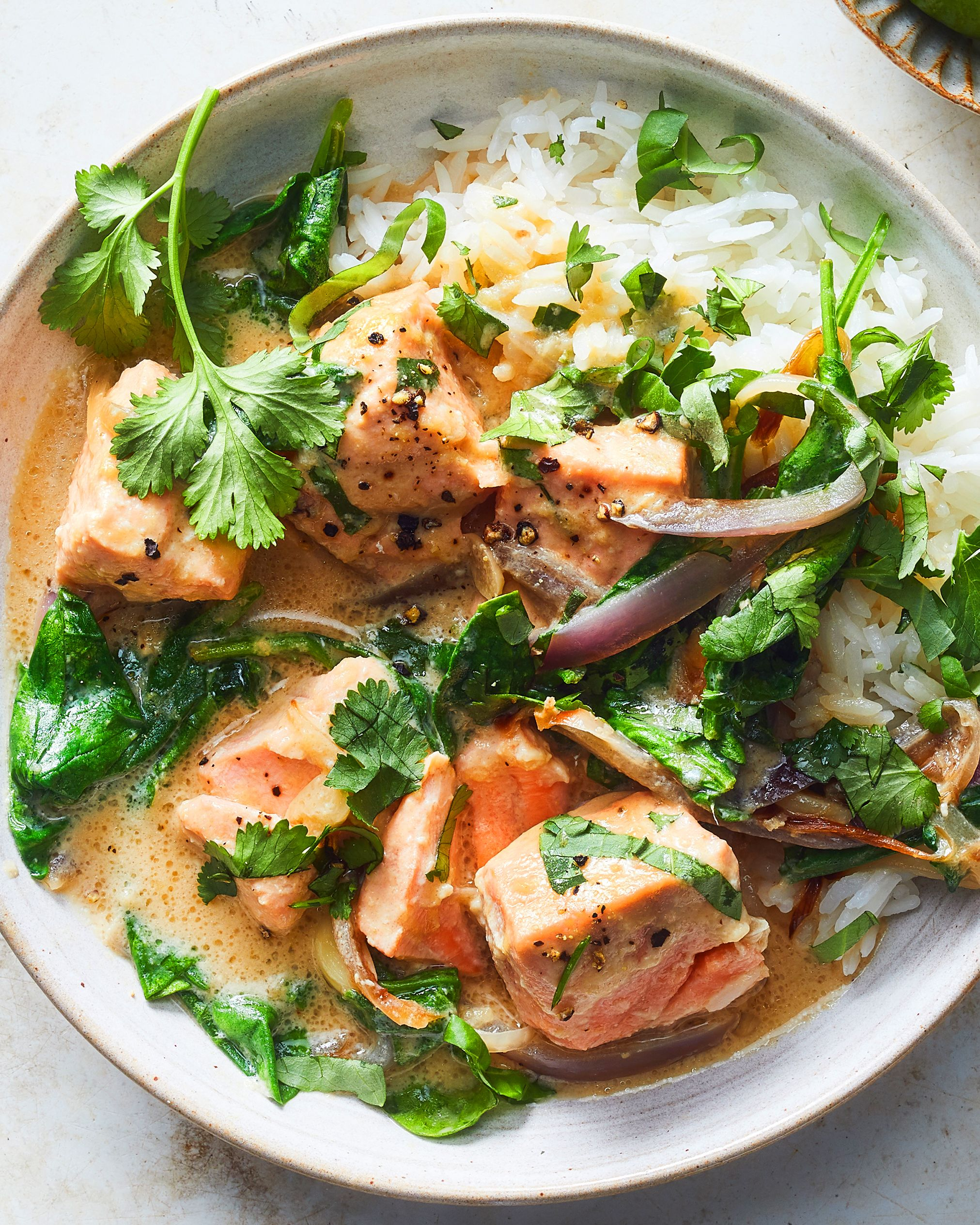 Photo of Coconut-Miso Salmon Curry
