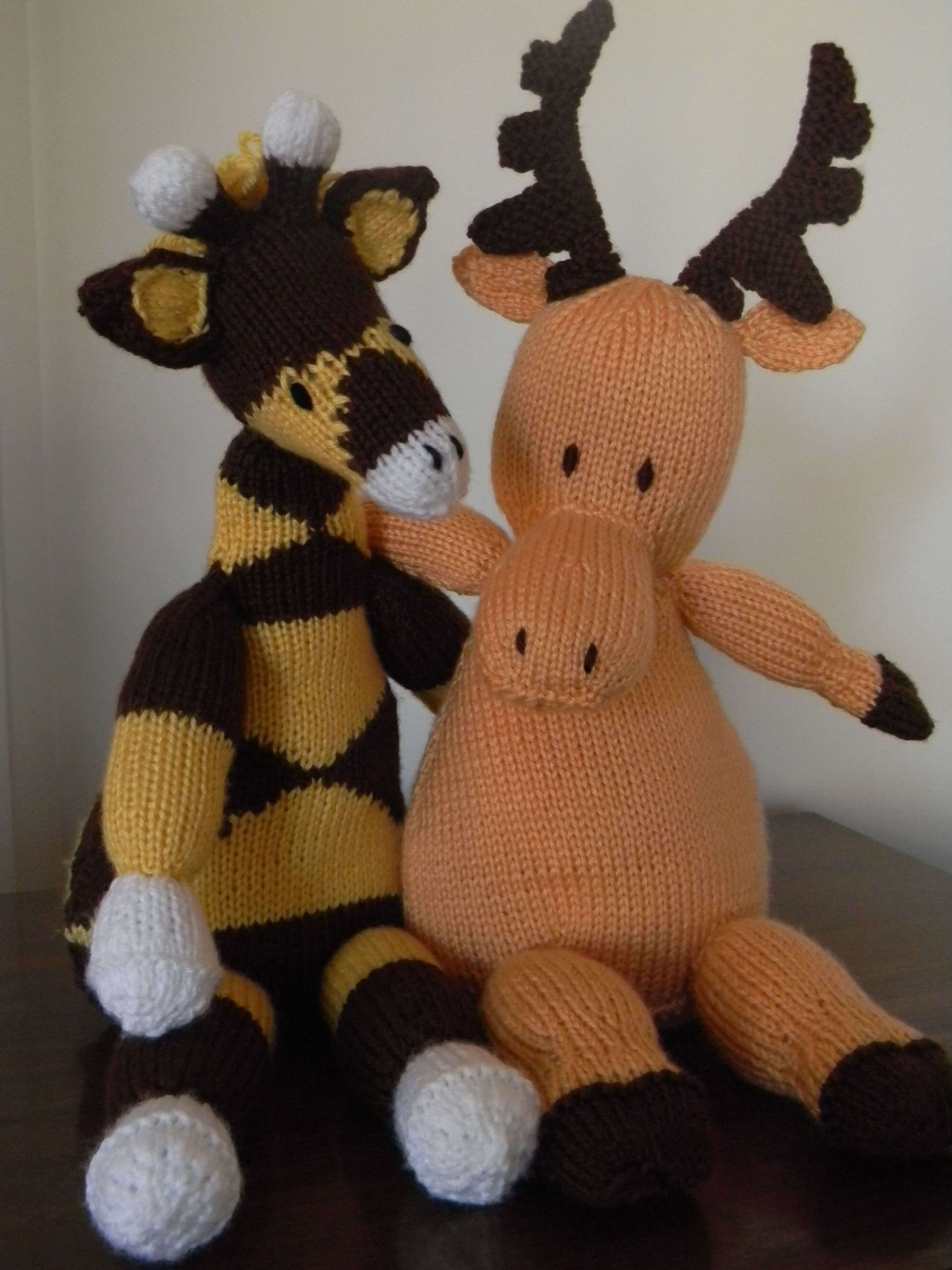"""Created using patterns in """"Knitted Wild Animals"""" by Sarah ..."""