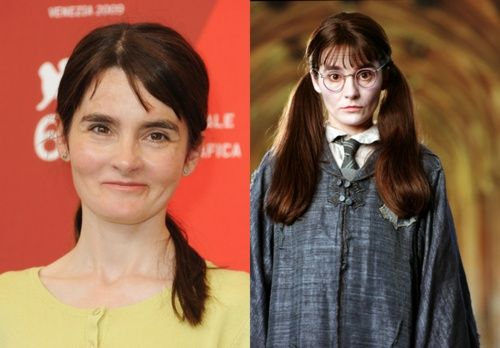 That Awkward Moment When You Find Out That The Actress Shirley Henderson Who Plays Moaning Myrtle I Harry Potter Facts Harry Potter Movies Harry Potter Funny