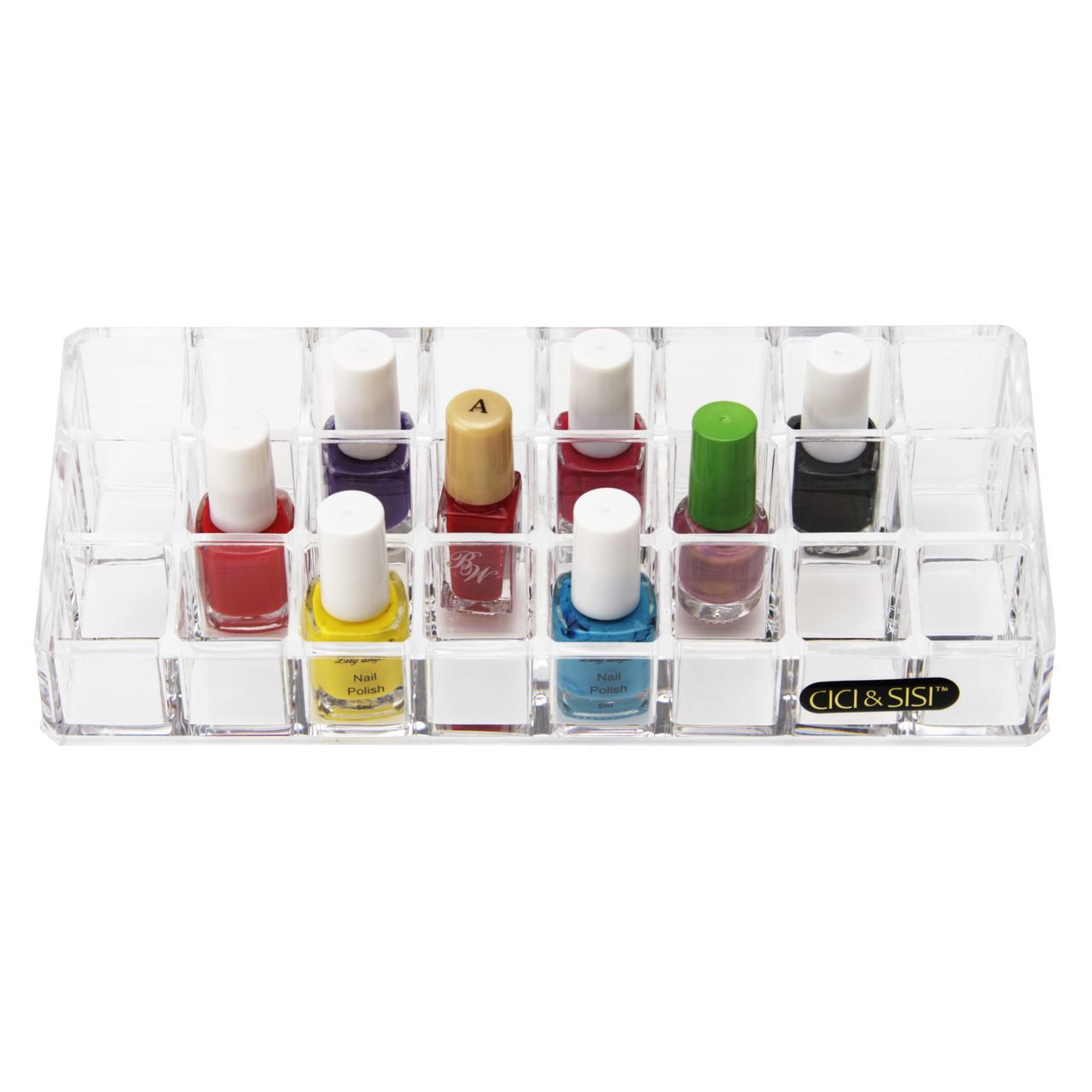 Clear Acrylic Lipstick Holder With 24pcs Spaces In Stock · $12.99