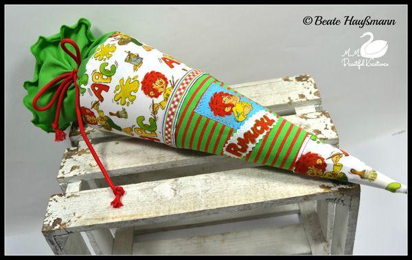 baumwolljersey pumuckl abc weiss  pumuckl weihnachtsschmuck