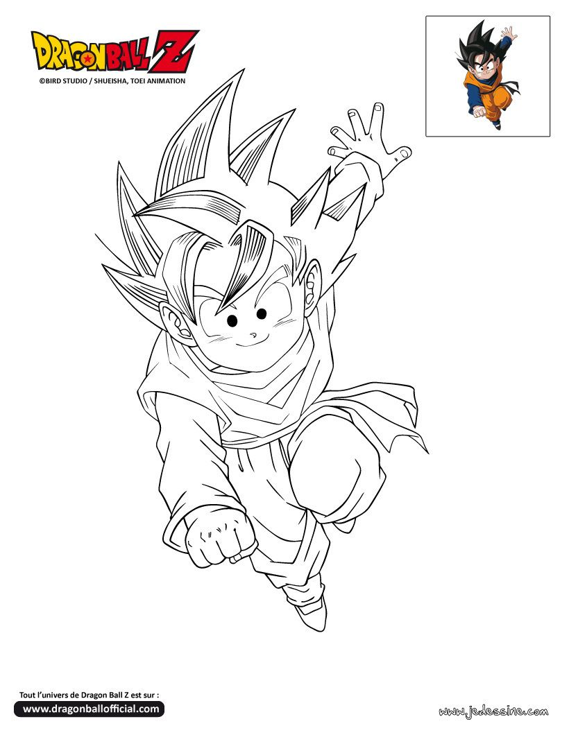 Coloriage Dragon Ball Z Coloriage Dragon Ball Z Coloriage