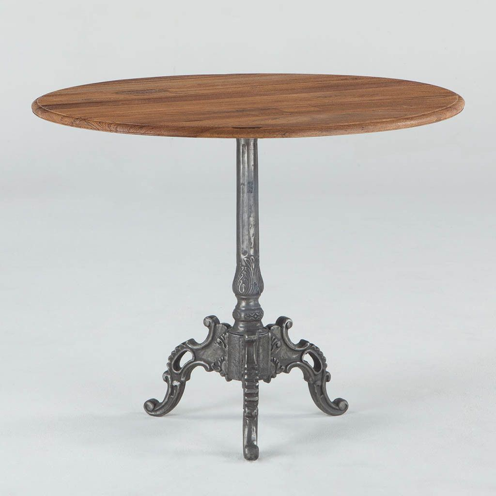 French Vintage Round Dining Table 36 Round Dining Table Dining Table Round Wood Dining Table