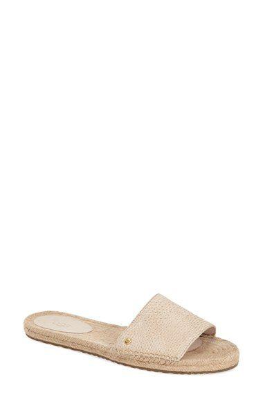a87c40a23e6 UGG® 'Cherry Exotic' Slide Sandal (Women) | relax buy it wear it ...