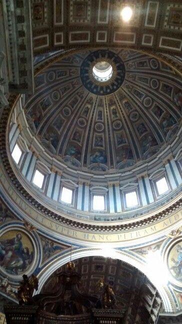 Cúpula da Basílica de São Pedro/ Roma -IT