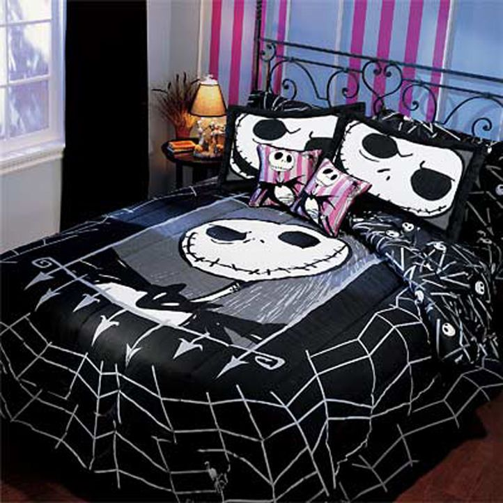 very rare nightmare before christmas twin comforter bedding - brand