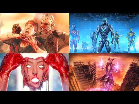 Mortal Kombat XL All ENDINGS (All DLC Characters Included) | Mortal