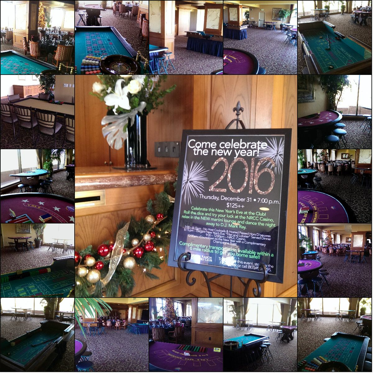 New Year's Eve celebration at North Ranch Country Club