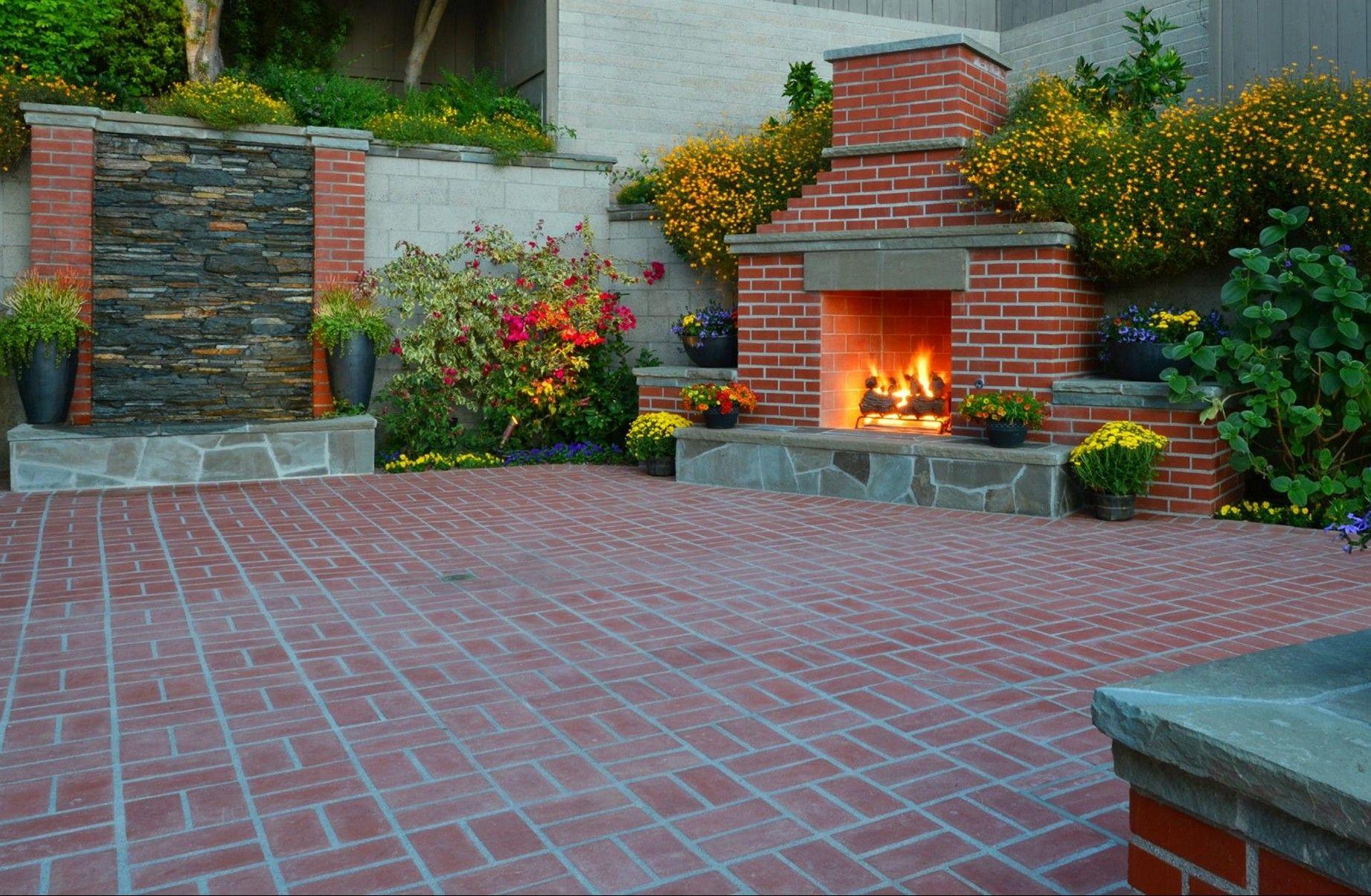 30 Vintage Patio Designs With Bricks Patio Brick Patios Patio