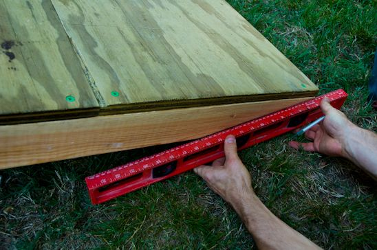 How To Build A Shed Ramp Potholes And Pantyhose Shed Ramp Building A Shed Shed Storage