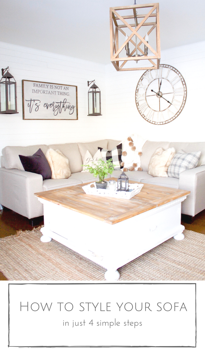 How To Perfectly Style Your Sofa In Just Four Simple Steps