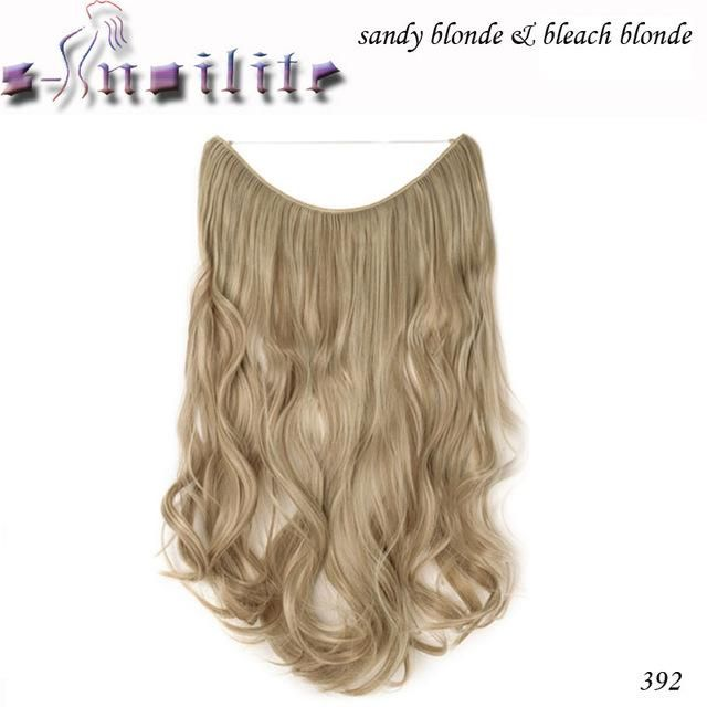 20 Inches Invisible Wire No Clips Fish Line Hairpieces Silky
