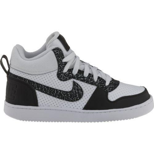 ad5395850085 Nike™ Boys  Court Borough Mid Premium (Gs) Basketball Shoes ...