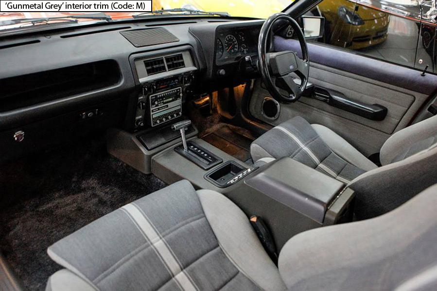 Ford Fairmont Ghia Xe Esp Gunmetal Grey Code M Front Seats Ford Fairmont Ghia Xe Esp
