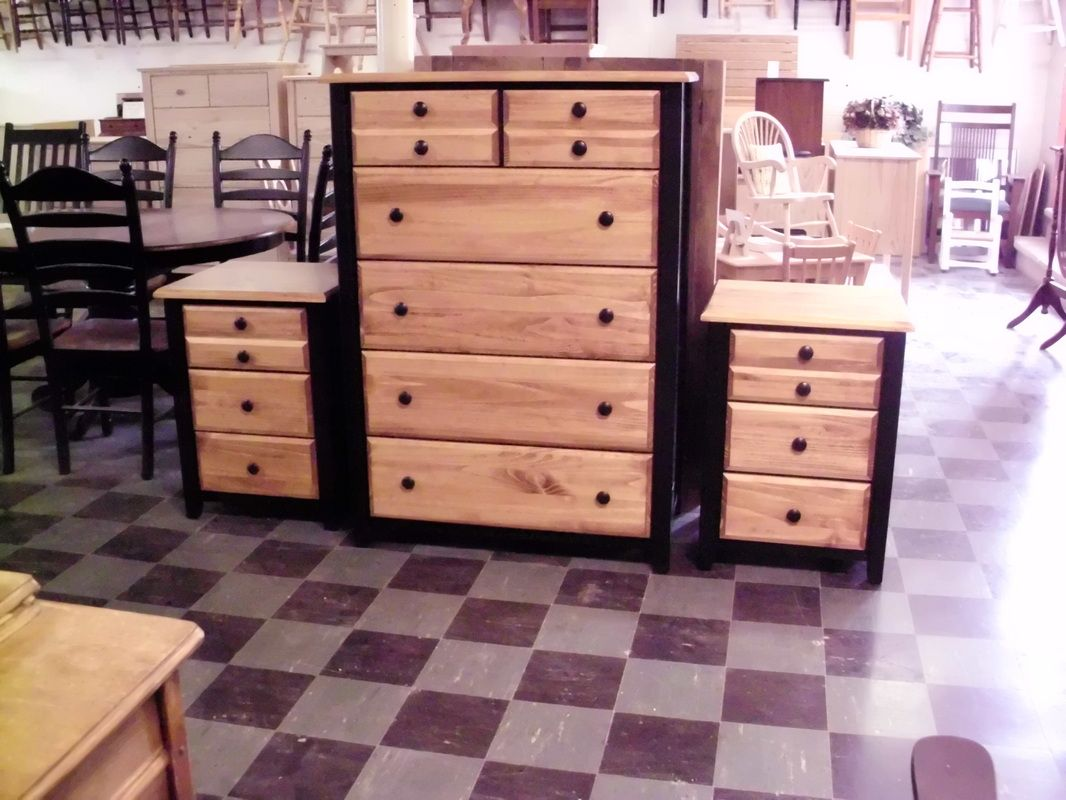 Perfect Unfinished Furniture That Customer Chose Color And Finish Done By The  Furniture Gallery Newark Ohio