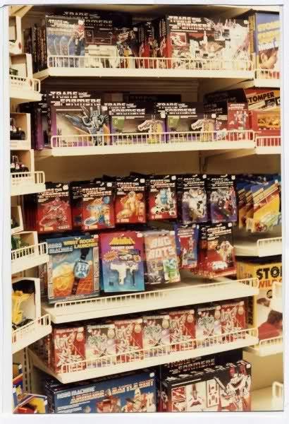 Transformers negozio