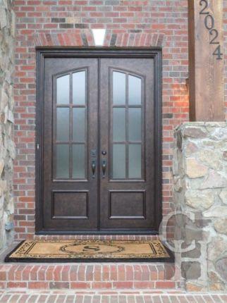 Showcase Of Wrought Iron Door Custom Designed Iron Doors Bronze