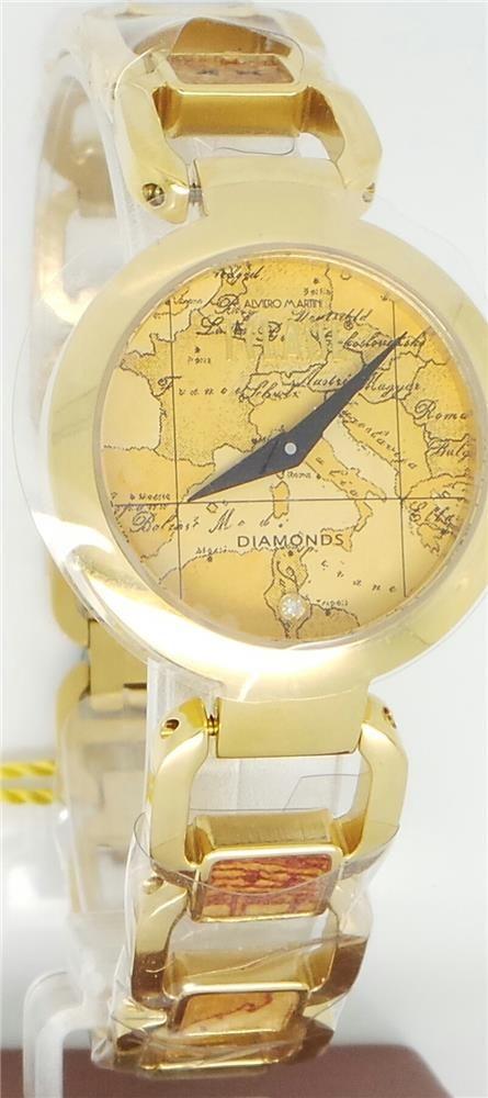 Alviero Martini orologio donna cinturino e cassa dorati ALVIERO MARTINI PRIMA CLASSE PCD1046/1VM - Orafinrete -