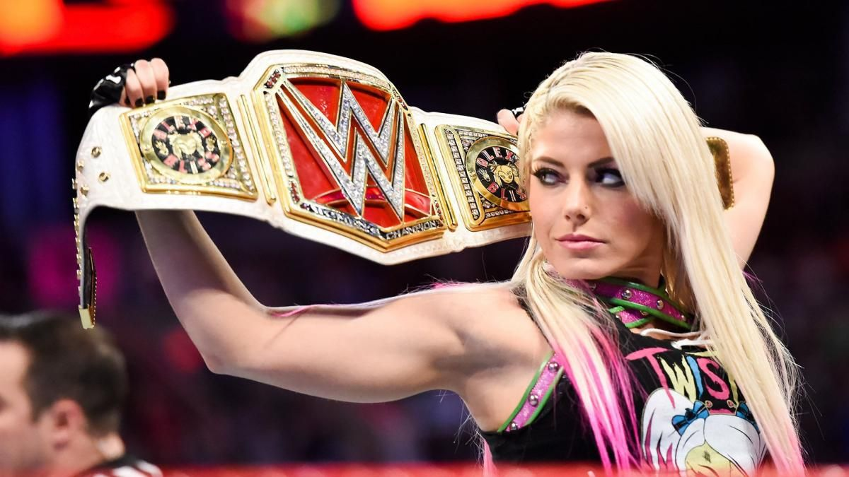 Photos Team Red Ladies Duke It Out In Preview Of First Ever Women S Elimination Chamber Match Raw Women S Champion Alexa Wwe Raw Women