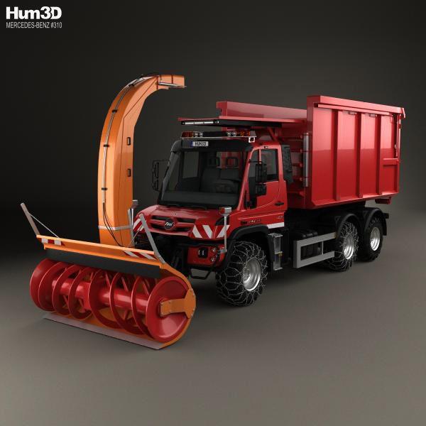 Metall-ART Design Unimog Modell-LKW