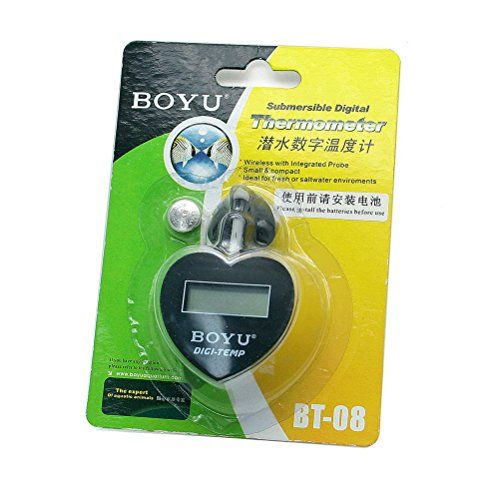 Dimart Boyu Bt-08 Premium Aquarium Digital Thermometer digital thermostat oven thermometer Thermostat thermometer with Probe Vehicle Fish Tank Aquarium Refrigerator Embedded (Black) - http://www.petsupplyliquidators.com/dimart-boyu-bt-08-premium-aquarium-digital-thermometer-digital-thermostat-oven-thermometer-thermostat-thermometer-with-probe-vehicle-fish-tank-aquarium-refrigerator-embedded-black/