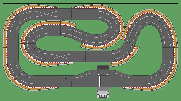 8 X4 Scalextric Layouts Track Plans Slotforum Scalextric Track Slot Cars Slot Racing