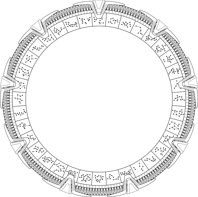 Images Of Stargate Lineart