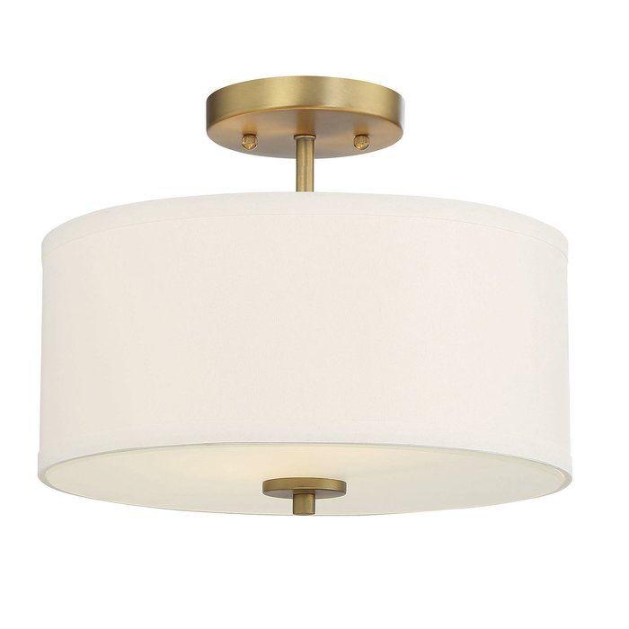 Glenrock 2 Light Semi Flush Mount Bedroom Ceiling Light Semi Flush Ceiling Lights Semi Flush Mount Lighting