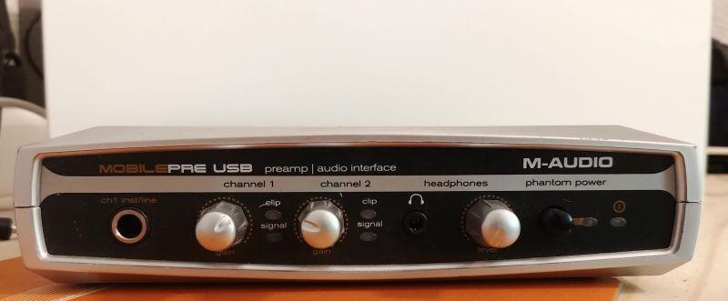 Carte Son M Audio Mobilepre Usb Usb Et Lecteur Mp3