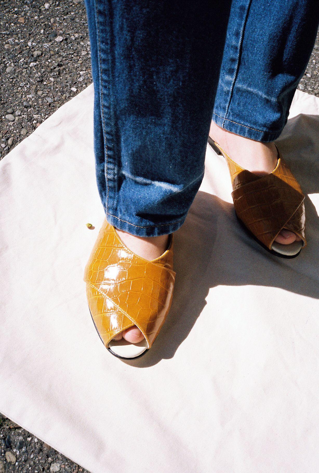TRADEMARK | Pajama Sandal - Camel