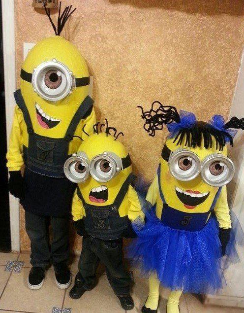 homemade halloween costumes ideas cute minion halloween costumes kids costumes - Homemade Halloween Costumes Ideas For Kids