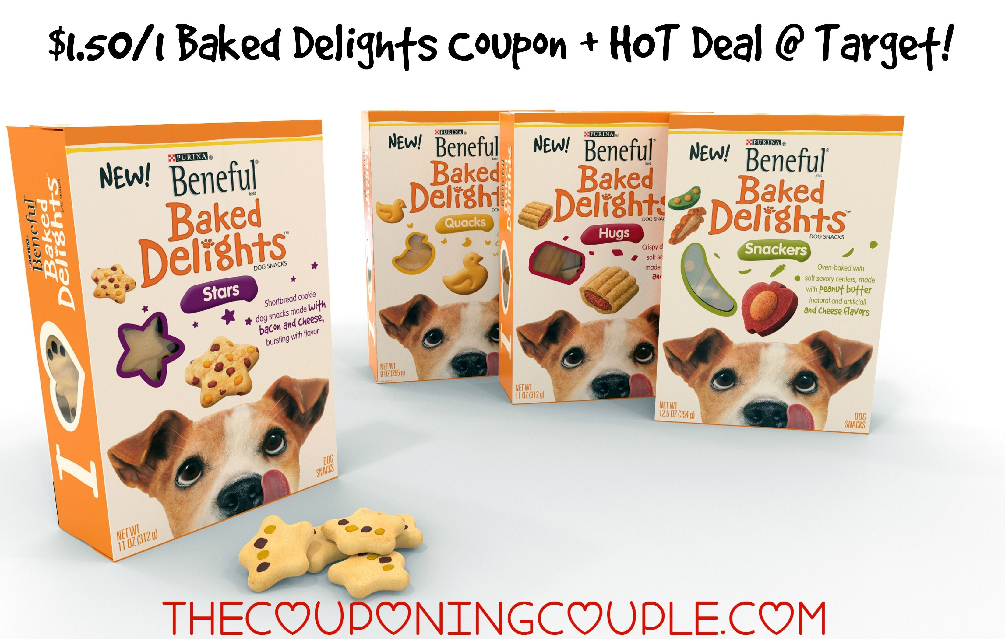 1 50 1 Beneful Baked Delights Coupon Hot Target Deal Target