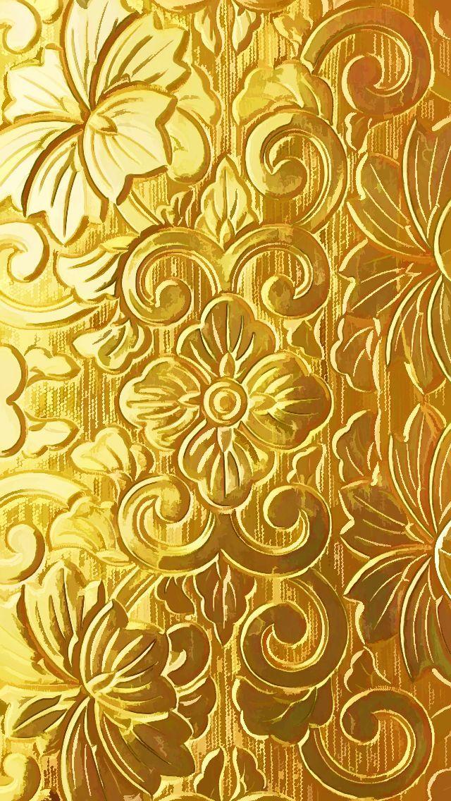 Seamless Royal Golden Wallpaper Royalty Free Cliparts ...